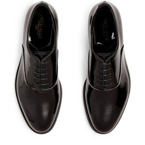 Giorgio Armani Classic Leather Derby Shoes